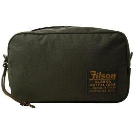 フィルソン Filson レディース ポーチ【Travel Pack】Otter Green