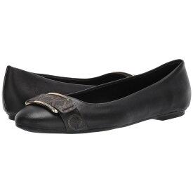 カルバンクライン Calvin Klein レディース シューズ・靴 スリッポン・フラット【Oneta】Black Nappa/Monogram Smooth