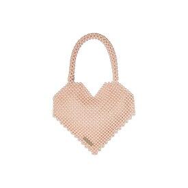 ロフラーランドール Loeffler Randall レディース バッグ トートバッグ【Maria Beaded Heart Tote】Blush Pearl