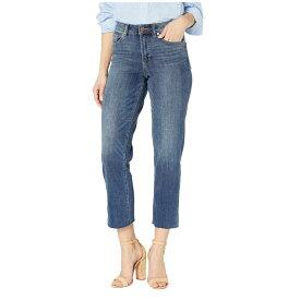 ヴィンス カムート TWO by Vince Camuto レディース ジーンズ・デニム ボトムス・パンツ【High-Rise Indigo Denim Crop Straight Leg Jeans in Mid Vintage】Mid Vintage