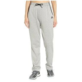 アディダス adidas レディース ボトムス・パンツ 【Team Issue Open Hem Pants】Medium Solid Grey/Heather/Black