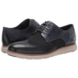 コールハーン Cole Haan メンズ 革靴・ビジネスシューズ ウイングチップ シューズ・靴【Original Grand Wingtip Oxford】Ombre Blue Leather/Denim/Cobblestone