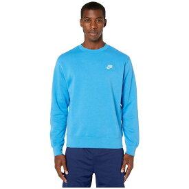 ナイキ Nike メンズ トップス 【NSW Club Crew】Light Photo Blue/White