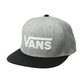 ヴァンズ Vans メンズ キャップ 帽子【Drop V II Snapback】Heather Grey