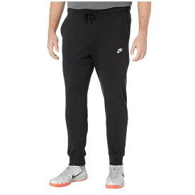 ナイキ Nike メンズ ジョガーパンツ 大きいサイズ ボトムス・パンツ【Big & Tall NSW Club Jogger Jersey】Black/White