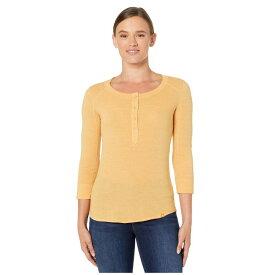 マーモット Marmot レディース 長袖Tシャツ 七分袖 トップス【Kerr 3/4 Sleeve Shirt】Yellow Gold