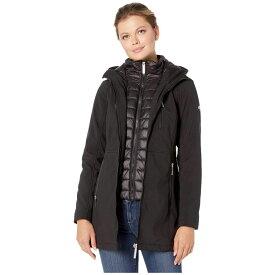 カルバンクライン Calvin Klein レディース ダウン・中綿ジャケット ビブパンツ ソフトシェルジャケット アウター【Softshell Jacket with Packable Bib Insert】Black