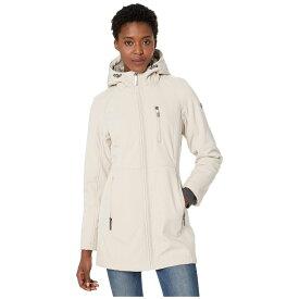 カルバンクライン Calvin Klein レディース ダウン・中綿ジャケット ビブパンツ ソフトシェルジャケット アウター【Softshell Jacket with Packable Bib Insert】Oyster