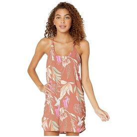 ハーレー Hurley レディース ワンピース ワンピース・ドレス【Coastal Domino Dress】Dusty Peach