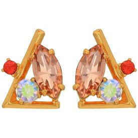 ジェイクルー J.Crew レディース イヤリング・ピアス ジュエリー・アクセサリー【Crystal Cluster L Stud Earrings】Wild Petunia