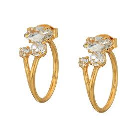 ジェイクルー J.Crew レディース イヤリング・ピアス ジュエリー・アクセサリー【Crystal Cluster Jacket Earrings】Crystal