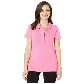 トミー ヒルフィガー Tommy Hilfiger Adaptive レディース ポロシャツ トップス【Polo Shirt with Magnetic Buttons】Azalea Pink
