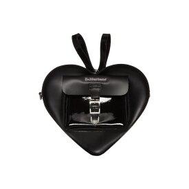 ドクターマーチン Dr. Martens レディース バックパック・リュック バッグ【Heart Shaped Leather Backpack】Black/Black/Black Kiev/Patent Lamper/Smooth