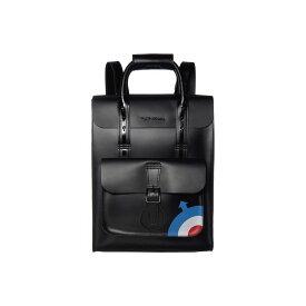 ドクターマーチン Dr. Martens レディース バックパック・リュック バッグ【The Who Small Leather Backpack】Black/Black Kiev/Smooth
