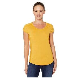 マーモット Marmot レディース Tシャツ トップス【Kitsilano Short Sleeve Shirt】Yellow Gold