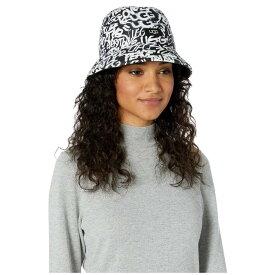 アグ UGG レディース ハット バケットハット 帽子【Reversible All Weather Bucket Hat】Graffiti UGG Black/White