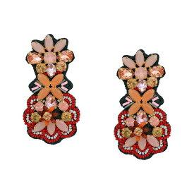 ジェイクルー J.Crew レディース イヤリング・ピアス ジュエリー・アクセサリー【Botanical Fabricback Earrings】Pale Blush