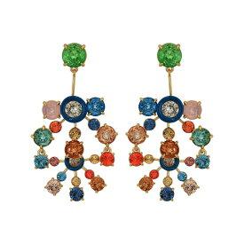 ジェイクルー J.Crew レディース イヤリング・ピアス ジュエリー・アクセサリー【Sunburst Crystal Statement Earrings】Multicolor