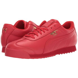 プーマ PUMA メンズ スニーカー シューズ・靴【roma basic wrap】High Risk Red/Puma Team Gold