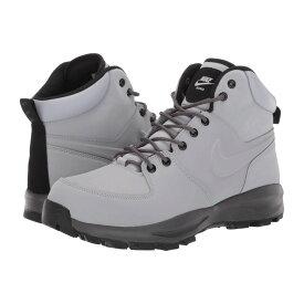 ナイキ Nike メンズ ハイキング・登山 シューズ・靴【manoa leather】Wolf Grey/Thunder Grey/Black