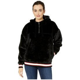 アグ UGG レディース パーカー トップス【kailani faux-sherpa hoodie】Black