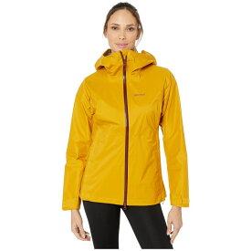 マーモット Marmot レディース ジャケット アウター【precip stretch jacket】Yellow Gold