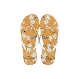 ロキシー Roxy レディース ビーチサンダル シューズ・靴【portofino ii】Yellow/Gold