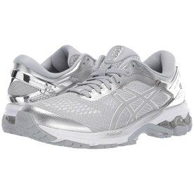 アシックス ASICS レディース ランニング・ウォーキング シューズ・靴【gel-kayano 26】Piedmont Grey/Silver 1