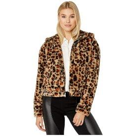アグ UGG レディース パーカー トップス【mandy faux fur hoodie】Leopard Amphora