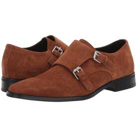 カルバンクライン Calvin Klein メンズ 革靴・ビジネスシューズ シューズ・靴【robbie】Tan Calf Suede