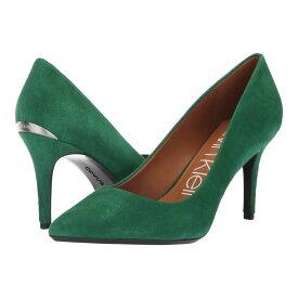 カルバンクライン Calvin Klein レディース パンプス シューズ・靴【gayle pump】Grass Green Leather Suede