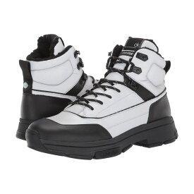 カルバンクライン Calvin Klein メンズ ブーツ シューズ・靴【cillian】Black/Silver Smooth Calf/Reflective Nylon