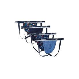 ツーイグジスト 2(X)IST メンズ ブリーフ インナー・下着【Bonus Pack 3+1 Stretch Jock Strap】Lightbulb Print Varsity Navy/Dutch Blue/Antler Print Dutch Blue