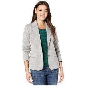 ペンドルトン Pendleton レディース スーツ・ジャケット アウター【Double Knit Blazer】Soft Grey/Taupe