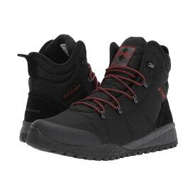 コロンビア Columbia メンズ ブーツ シューズ・靴【Fairbanks Omni-Heat】Black/Rusty