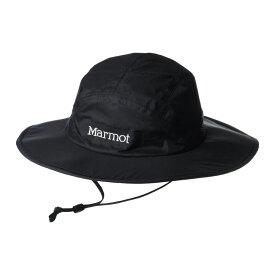 マーモット Marmot メンズ ハット サファリハット 帽子【PreCip Eco Safari Hat】Black