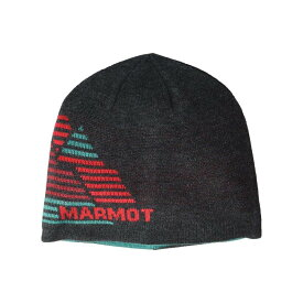 マーモット Marmot メンズ ニット ビーニー 帽子【Novelty Reversible Beanie】Dark Grey Heather