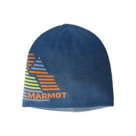 マーモット Marmot メンズ ニット ビーニー 帽子【Novelty Reversible Beanie】Moroccan Blue