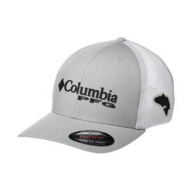 コロンビア Columbia レディース キャップ 帽子【PFG Mesh(TM) Ballcap】Cool Grey/Black/Red Fish