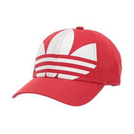 アディダス adidas Originals レディース キャップ 帽子【Big Trefoil Relaxed Cap】Lush Red/White