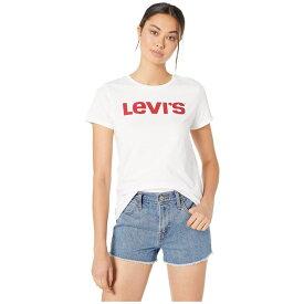 リーバイス Levi's Womens レディース Tシャツ トップス【The Perfect Tee】Core Levi's Type White