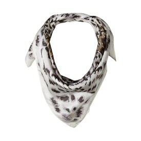 エコー Echo Design レディース マフラー・スカーフ・ストール 【Leopard Silk Square Scarf】Slate