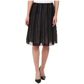 ニックゾー NIC+ZOE レディース スカート 【Batiste Flirt Skirt】Black Onyx