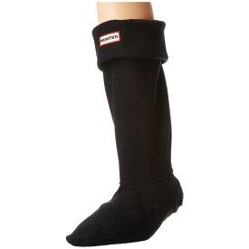 ハンター Hunter レディース ソックス インナー・下着【Boot Socks】Black