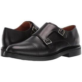 ラルフ ローレン Polo Ralph Lauren メンズ 革靴・ビジネスシューズ シューズ・靴【Asher Double Monk Strap】Black Calf Leather