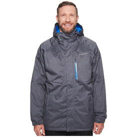 コロンビア Columbia メンズ スキー・スノーボード 大きいサイズ ジャケット アウター【Big & Tall Alpine Action(TM) Jacket】Graphite/Super Blue