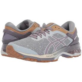 アシックス ASICS レディース ランニング・ウォーキング シューズ・靴【GEL-Kayano 26】Glacier Grey/Lavendar Grey