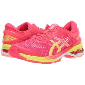 アシックス ASICS レディース ランニング・ウォーキング シューズ・靴【GEL-Kayano 26】Pink/Sour Yuzu