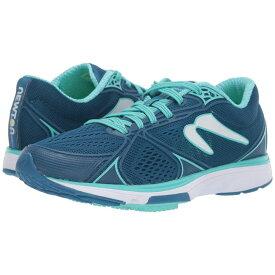 ニュートンランニング Newton Running レディース ランニング・ウォーキング シューズ・靴【Fate 5】Navy/Teal