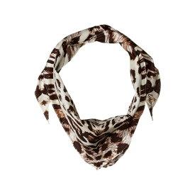 エコー Echo Design レディース マフラー・スカーフ・ストール 【Leopard Silk Diamond Shaped Scarf】Oatmeal